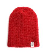 Poler Mole Hair Beanie 5322-DRD Deep Red - $26.49