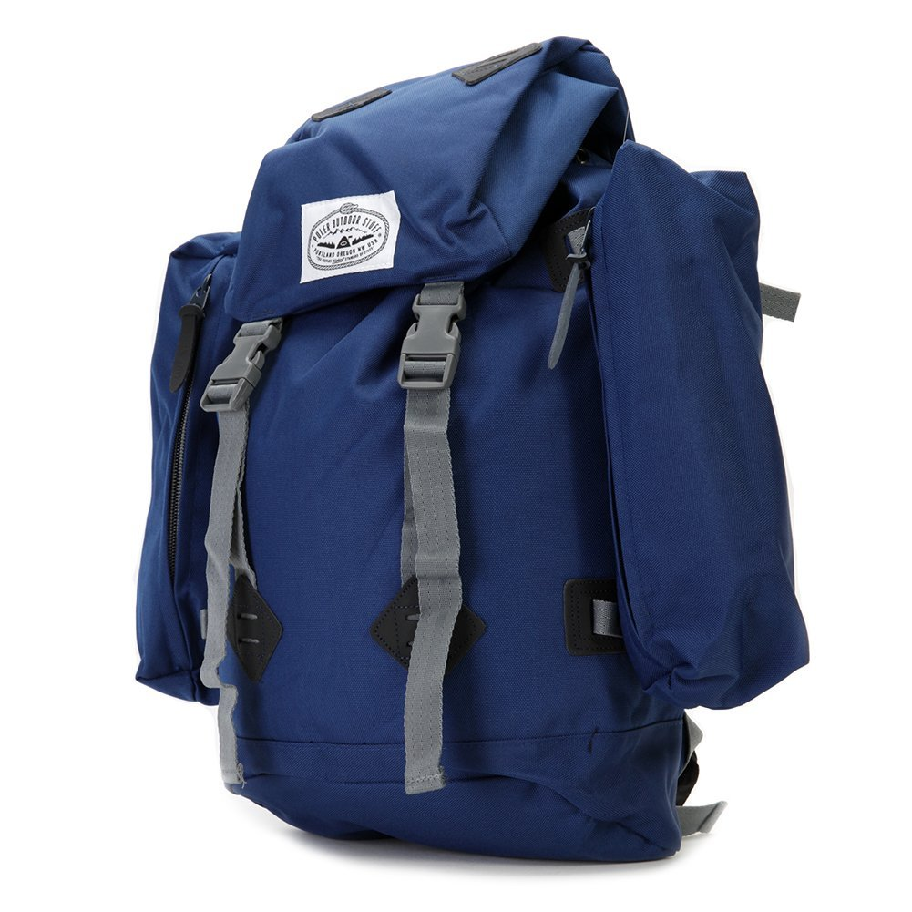 Poler The Rucksack Navy Backpack Old School Style One size