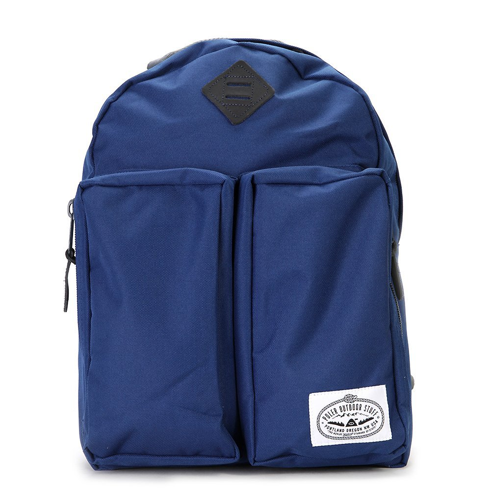 Poler The Day Backpack Classic Style Navy One size