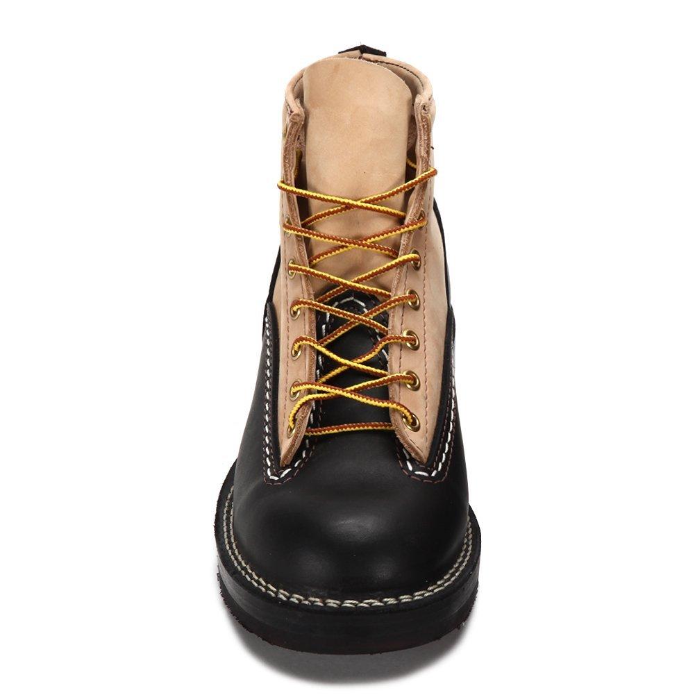 Wesco Men's Jobmaster Boot BKBE106705 Black/Beige SZ 7.5