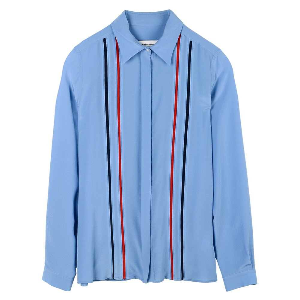 Mauro Grifoni Women's Camicia- C Button Down Shirt KP260019C1-KS127-83589 SZ 38