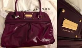 Marc Jacobs Collection Palais Royal Jen Satchel Purple w/ Dust Bag Nwt New Rare! - $565.00