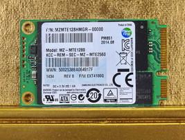 SAMSUNG MZMTE128HMGR-00000 MZ-MTE1280 128Gb SSD mSATA  - $28.88