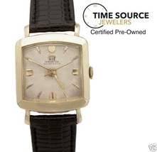 Vintage Omega Automatic Gold Filled 39 X 28mm Circa 1950s Watch - $675.25