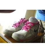 Nike Air Trainer 1 Mid PRM QS SIZE 7Y GRAY PINK - $9.50