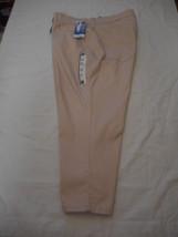 Women's Lee Easy Fit 5 Pocket Frenchie Capris Oleander Color Size 24W M ... - $36.62
