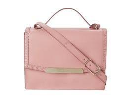 Cole Haan Women's Gladstone Leather Shoulder Top Handle Bag Blush Pink  - $187.11