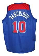 Bob Dandridge #10 Washington Retro Basketball Jersey Sewn Blue Any Size image 2