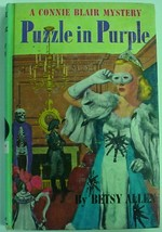 Connie Blair #3 Puzzle in Purple picture cover Betsy Allen VG G&D - $18.00