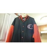 Champion JACKET black and Red 3XL Varsity/Baseball Multi-Color  - $12.65