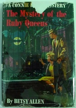 Connie Blair #12 The Mystery of the Ruby Queens 1st edition hcdj Betsy A... - $50.00