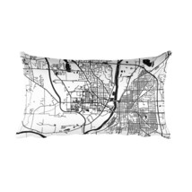 West Lafayette Pillow, West Lafayette Indiana T... - $39.99