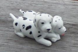 Custom Made Terra Dalmation Puppys Dog Christmas Holiday Ornament  - $18.00