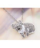 Animal Planet™ Australia Koala Crystal Sterling Silver Pendant Necklace - $19.99
