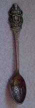 VINTAGE--Rolex Bucher souvenir spoon-lion in the bowl-Lucerne - $4.99