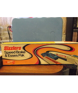 Mattel Hot wheels Sizzlers Speed Brake & Esses Pak in original box - $45.00