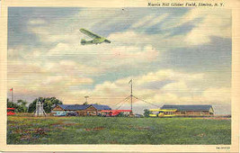 Harris Hill Glider Field Elmira New York Vintage Post Card - $5.00