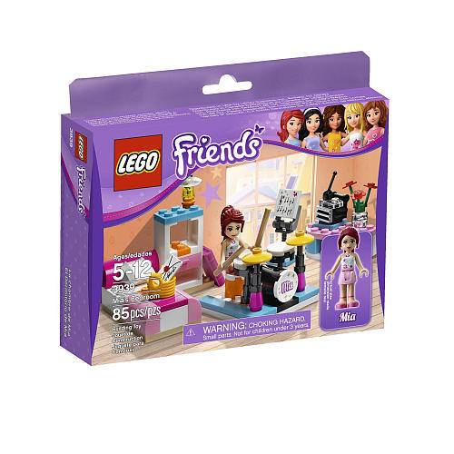 Lego friends 3939 mia s bedroom a