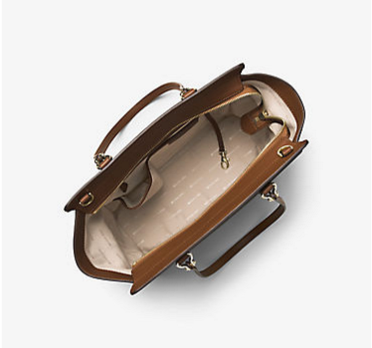 177800c3422631 NWT Michael Kors Handbag Dee Dee Large Signature Convertible Tote, Shoulder  Bag