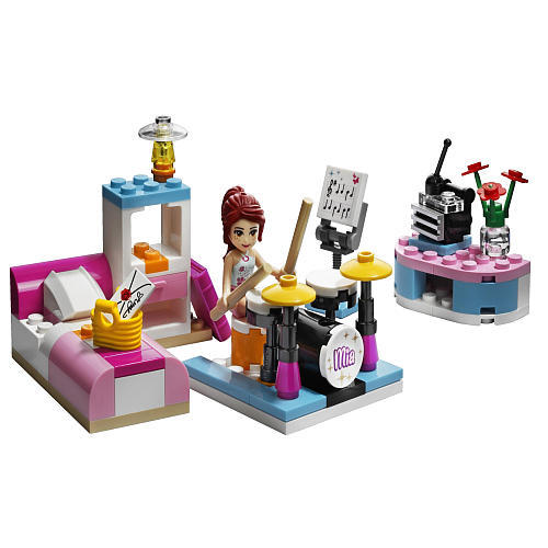 Lego Friends 3939 - Mia's Bedroom Set