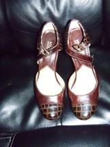 Michael Kors leather MaryJanes Platforms Heels ... - $69.99