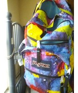 JANSPORT BOOKBAG MULTI-COLOR 4 HOLDING areas - $23.22