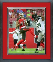 Mike Evans Tampa Bay Buccineers 2016 Action-11x14 Team Logo Matted/Framed Photo  - $43.55