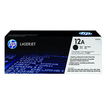 New Genuine HP 12A (Q2612A) Black Original LaserJet Toner Cartridge - $63.36