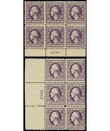529-30, Mint F-VF NH 3¢ Plate Blocks of Six Stamps Cat $180.00 - Stuart ... - $110.00