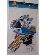 1995 Saban Power Rangers Paper Art Jointed Cutout New In Package Factory... - $34.99