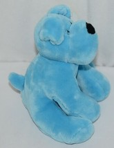 Fiesta Brand Comfies Collection A52862 Hot Colors Blue Plush Puppy Dog image 2