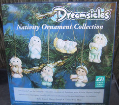 Dreamsicles Nativity Ornament Collection New in Box - $35.00