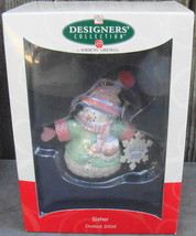 Sister Snowman Designers' Collection American Greetings Ornament 2005 - $19.99