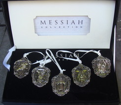 The Messiah Collection LIFE OF CHRIST 5 Fine Collectible Silver Plated O... - $24.99
