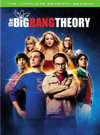 The Big Bang Theory Complete Seventh Season7 DVD New TV Comedy Series