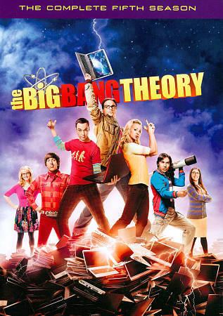 The Big Bang Theory Complete Fifth Season 5 (DVD, 2012 3-Disc Set) NEW TV Series