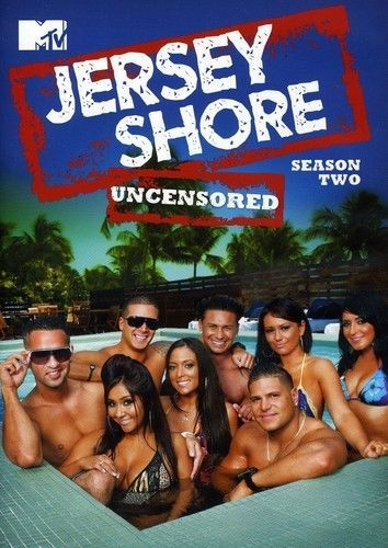 Jersey Shore: Complete Second Season 2 Uncensored DVD New TV Series