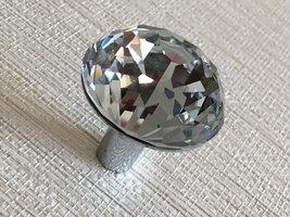 Glass Knob Dresser Knob Crystal Drawer Pull Cabinet Door Knob Bling Rhinestone - $5.00
