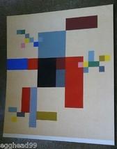 Sophie TAEUBER-ARP Original Aquarelle Composition 1950s X Xeme Siecle Paris Rare! - $962.49