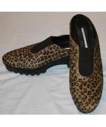 Donald Pliner Slip On Shoes 7M 7 M Animal Print Rasha Womens Cango Wedge... - $63.00