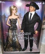 Mattel Barbie & Ken Tim McGraw & Faith Hill Dolls NRFB Pink Label LAST ONE - $159.99