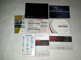 2012 Kia Optima Owners Manual with Navigation Manual 04520 - $28.66