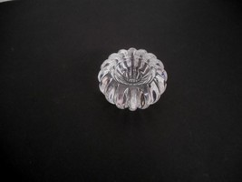 New w/Tag~Dansk Int'l of Japan~Full Lead Clear Crystal rd Candle/Taper H... - $20.00