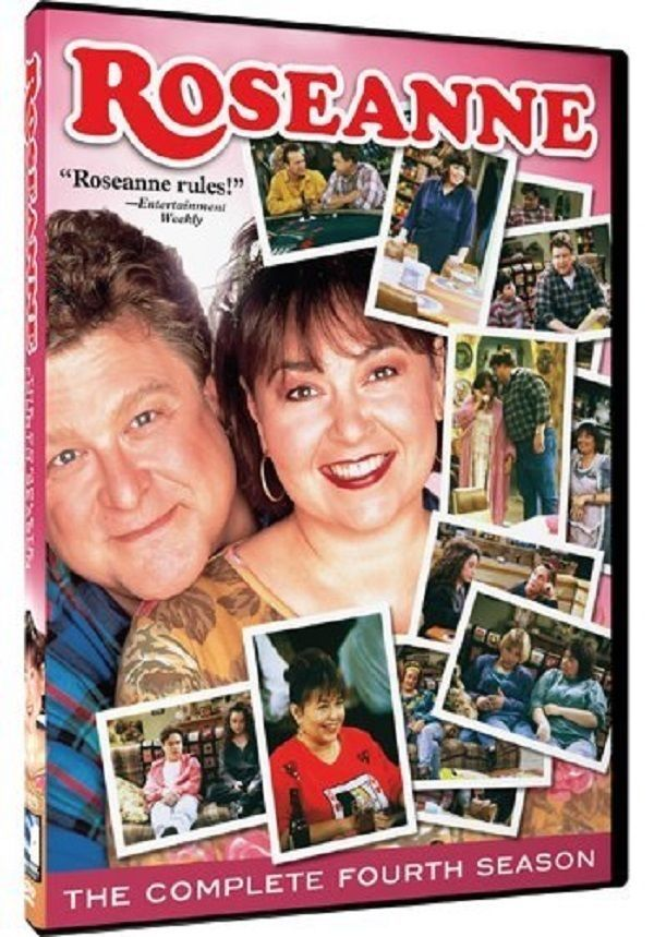 Roseanne ~ The Complete Fourth Season 4 DVD Box Set New TV Comedy Series