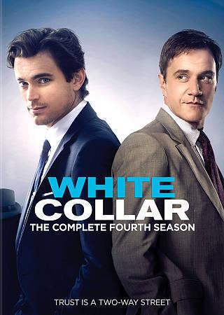 White Collar: The Complete Fourth Season 4 DVD Set New TV Series