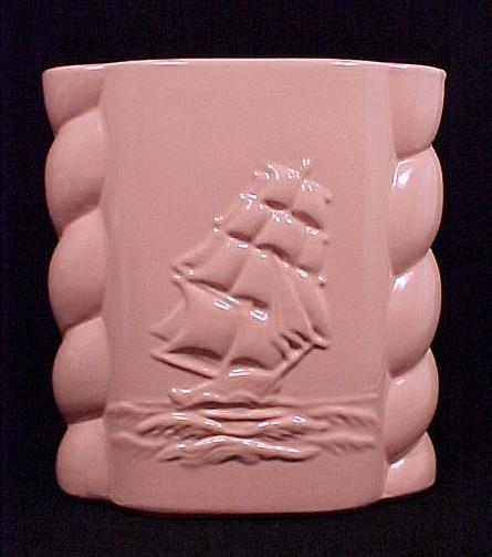 Sailing Clipper Ship Abingdon Pottery Vase And 21 Similar Items