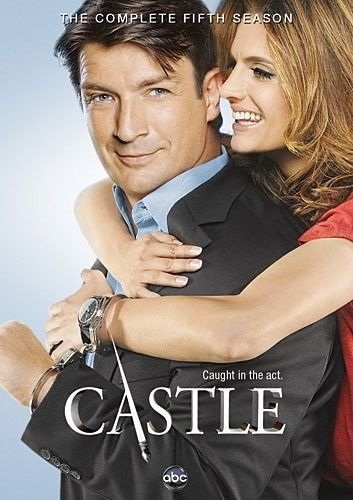 Castle: The Complete Fifth Season 5 DVD Set New TV Series