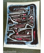 ALFRED MANESSIER Signed Dated in Plate 53 ORIGINAL LITHOGRAPH print XXem... - $373.99