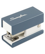 """Swingline Mini Fashion Stapler, 12-Sheet Capacity, Blue"" - $2.69"