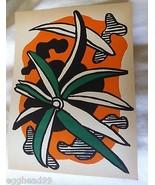 "FERNAND LEGER LITHOGRAPH ""LA FLEUR"" 1952 1st Edition Limited Modern Art ... - $467.14"